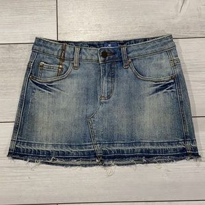 Lilu Denim Mini Skirt